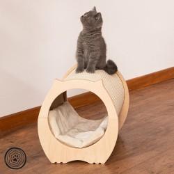 Natural Paradise kradsemøbel katteseng - L41xB30,5xH32,5cm