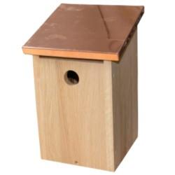 Nature Life fuglekasse til musvitter - Eg/kobber