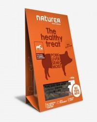 Naturea - sunde godbidder til hund - Svinelever