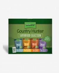 Natures:Menu - Country Hunter Super Selection til kat - 12 poser x 85g.