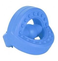 Naturgummi ring med knopper til tænder der klør