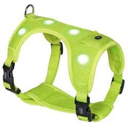 Nobby hundesele med LED-lys - Harness Flash Mesh