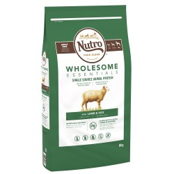 Nutro Wholesome Essentials Adult Large Breed Lam & Ris - 8 kg