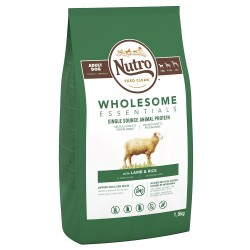 Nutro Wholesome Essentials Small Breed Lam & Ris - 1,5 kg