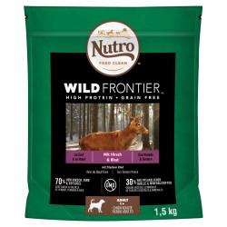Nutro Wild Frontier Hund Adult Hjort & Okse - 1,5 kg