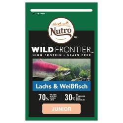 Nutro Wild Frontier Kat Junior laks og hvidfisk - 1,5 kg