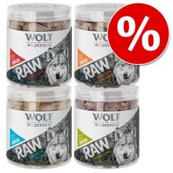 Økonomipakke Wolf of Wilderness - Raw Snacks - Snackpose