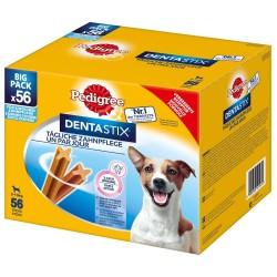 Økonomipakke: 168 x Pedigree DentaStix / Fresh - Dentastix x 112 + Dentastix Fresh x 56 - Small (5-10 kg)