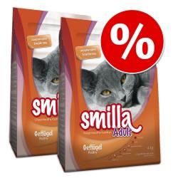 Økonomipakke: 2 x 10 kg Smilla - Adult Sterilised - Fisk