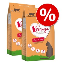 Økonomipakke: 9/ 10/ 13 kg Feringa Tørfoder - Adult Kalkun - koldpresset 9 kg (3 x 3 kg)