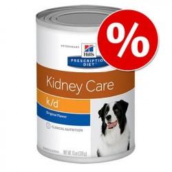 Økonomipakke: Hill's Prescription Diet hundefoder (24 dåser) - k/d + Mobility: Ragout med Kylling 24 x 354 g