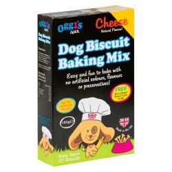 Oggi's bag-selv hundekiks - Dog Biscuit Baking Mix - Smag af ost