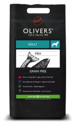 OLIVERS ADULT FISH GRAIN FREE, MEDIUM - 12 kg