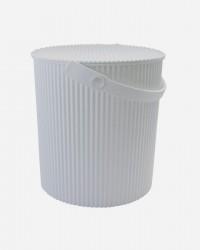OMNIOUTIL BUCKET FRA HACHIMAN - Til foder eller Hjemmet - HVID, X-Large (20 Liter)