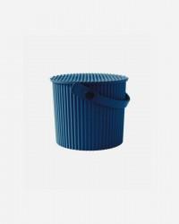 OMNIOUTIL BUCKET FRA HACHIMAN - Til foder eller Hjemmet - NAVY BL??, Mini (4 Liter)
