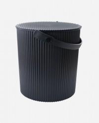 OMNIOUTIL BUCKET FRA HACHIMAN - Til foder eller Hjemmet - SORT, X-Large (20 Liter)