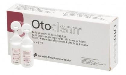 Otoclean 18 x 5 ml., ørerensemiddel