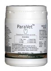 ParaVet 150 kapsler, tilskudsfoder til kat og lille hund