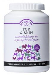 Pet For Life Fur & Skin, 120 stk.