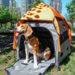 PetEgo® Transportboks UPet Tent - Str. M: B 75 x D 75 x H 80 cm