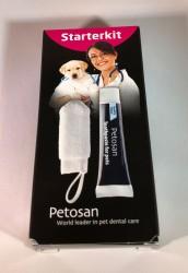 Petosan - Fingertandbørste + tandpasta