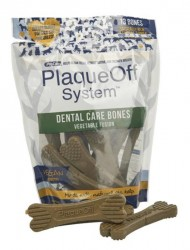 Plaque Off Dental Care Bones Vegetable Fusion, 482 g - 13 stk.