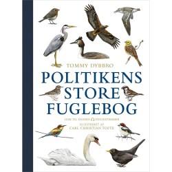 Politikens store fuglebog - Hardback