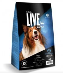Probiotic Live Adult Chicken - Kylling & ris - 12 kg
