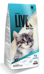 Probiotic Live Kitten Chicken -Kylling til killing - 2 kg