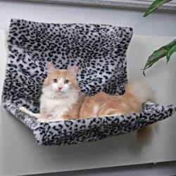 Radiator seng XL, sneleopard mønster
