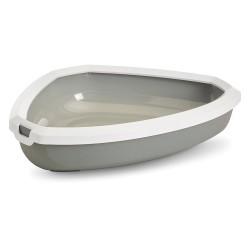 Rincon grå/hvid Savic kattebakke