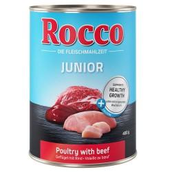 Rocco Junior 6 x 400 g - Okse + kalcium