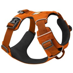 Ruffwear Hundegeschirr Front Range Harness - Größe S: 56 - 69 cm Brustumfang, B 25 mm, orange