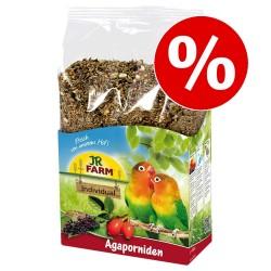SÆRPRIS! 1 kg JR Farm fuglefoder! - Dværgpapegøje