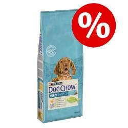 SÆRPRIS! 2 x 14 kg Purina Dog Chow - Adult Lamb & Rice