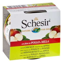 Schesir Fruit 6 x 150 g - Kylling med æble