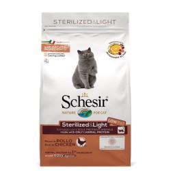 Schesir Sterilized & Light - Kylling - Økonomipakke: 2 x 10 kg