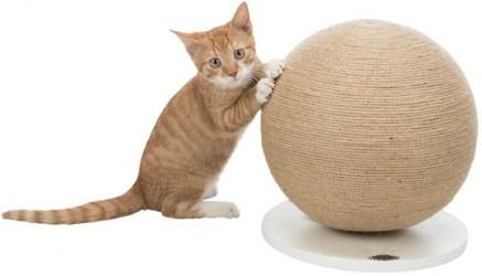 Scratching ball