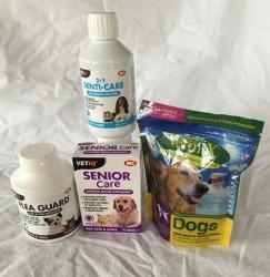 Senior Hunde Pakke med alt det gode for din ældre hunds velvære og helbred