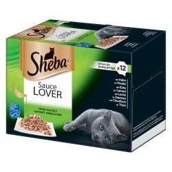 Sheba bakker ''Uimodståelige varianter'' 12 x 85 g - Sauce Lover