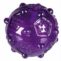 Sjovt legetøj til hunden, bold med lyd i thermoplastik gummi
