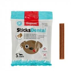 Sticks Dental, 7 stk. uden sukker, til små hunde 1-20 kg - 110 g