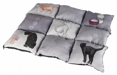 Tæppe i patchwork til katten