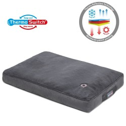 ThermoSwitch® Hundepude Milos - XL: L 120 x B 75 x H 10 cm