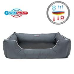 ThermoSwitch® Hundeseng Paros Lux - M: L 70 x B 50 x H 24 cm