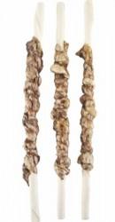 Tyggepind med okselunge, 25 cm - 6 stk.