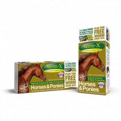 Verm-X Horse Promotion Pack x 2 + 2 x Laboratorieprøver