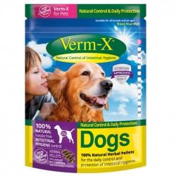 Verm-X: effektivt naturbaseret ormemiddel til hvalp og hund der er enkelt at dosere og give