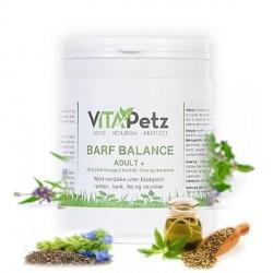 VitaPetz BARF Balance Adult + Krill, urtetilskud, 1000g refill