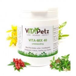 VitaPetz Vita-Mix 40, All-round urteblanding, 800 gr